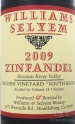 2009 Williams Selyem - Zinfandel Forchini Vineyard South Knoll