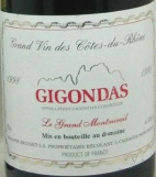 1998 Brusset - Gigondas Tradition Le Grand Montmirail