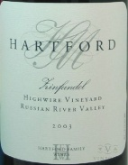 2003 Hartford Family - Zinfandel Highwire Vineyard