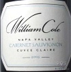 2009 William Cole - Cabernet Sauvignon Cuvee Claire