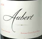 2009 Aubert - Pinot Noir Reuling Vineyard