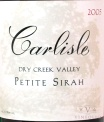 2007 Carlisle - Petite Sirah Dry Creek Valley