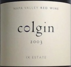 2003 Colgin - Red IX Estate
