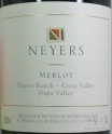 2006 Neyers - Merlot Neyers Ranch Conn Valley