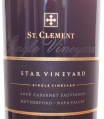 2005 St Clement - Cabernet Sauvignon Star Vineyard