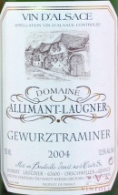 2010 Allimant-Laugner - Gewurztraminer