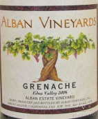 2006 Alban - Grenache Alban Estate Vineyard