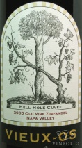 2005 Vieux-Os - Zinfandel Hell Hole Vineyard Old Vine