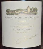 2007 Robert Mondavi - Fume Blanc To Kalon Vineyard Reserve