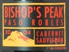 2001 Bishop's Peak - Cabernet Sauvignon