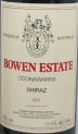 2001 Bowen Estate - Shiraz