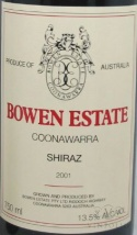 2003 Bowen Estate - Shiraz