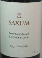 2003 Saxum - James Berry Vineyard Rocket Block