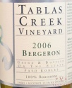 2006 Tablas Creek - Bergeron