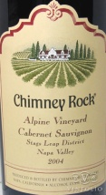 2004 Chimney Rock - Cabernet Sauvignon Alpine Vineyard