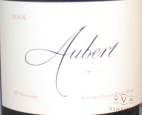 2006 Aubert - Pinot Noir UV Vineyard