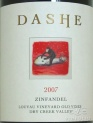2007 Dashe - Zinfandel Louvau Vineyard Old Vines