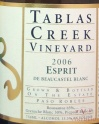 2006 Tablas Creek - Esprit de Beaucastel Blanc