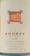 2006 Source - Sauvignon Blanc Gamble Vineyard