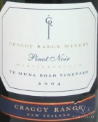 2009 Craggy Range - Pinot Noir Te Muna Road Vineyard
