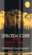 2004 Quilceda Creek - Cabernet Sauvignon Galitzine Vineyard