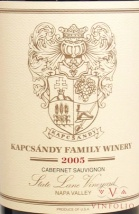 2004 Kapcsandy Family - Cabernet Sauvignon State Lane Vineyard Grand Vin