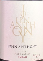 2009 John Anthony - Syrah