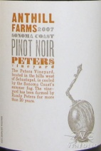 2007 Anthill Farms - Pinot Noir Peters Vineyard