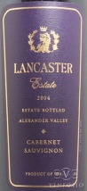 2004 Lancaster Estate - Cabernet Sauvignon Estate