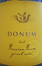 2005 Donum - Pinot Noir Russian River Valley