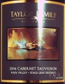2003 Taylor Family - Cabernet Sauvignon Stags Leap District