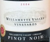 2005 Willamette Valley - Pinot Noir Willamette Valley