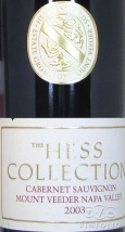 2008 Hess Collection - Cabernet Sauvignon Mount Veeder Estate Vineyard