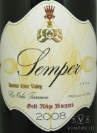 2007 Semper - Pinot Noir Gold Ridge Vineyard
