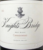 2008 Knights Bridge - Chardonnay West Block