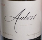 2008 Aubert - Chardonnay Hyde & Sons Vineyard