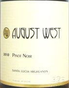 2011 August West - Pinot Noir Santa Lucia Highlands