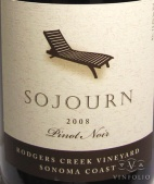 2009 Sojourn - Pinot Noir Rodgers Creek Vineyard