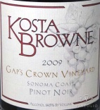 2009 Kosta Browne - Pinot Noir Gap's Crown Vineyard