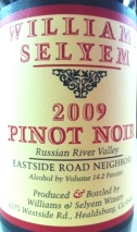 2010 Williams Selyem - Pinot Noir Eastside Road Neighbors