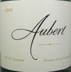 2009 Aubert  - Chardonnay UV-SL Vineyard