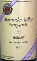 2005 Alexander Valley - Merlot Wetzel Family Estate