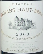 2000 Haut-Brion - Bahans de Haut-Brion