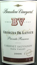 2006 BV - Georges de Latour Private Reserve