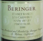 1997 Beringer - Pinot Noir Stanly Ranch