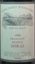1996 Burge Family - Shiraz Draycott Vineyard Reserve