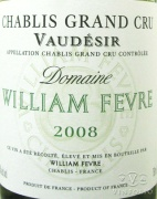 2010 William Fevre - Chablis Vaudesir