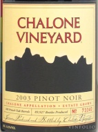 2007 Chalone - Pinot Noir Estate