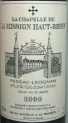 1982 Mission Haut-Brion - La Chapelle de la Mission Haut-Brion