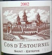 2002 Cos d'Estournel